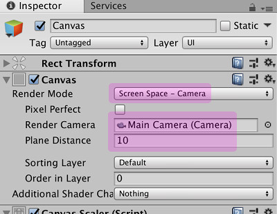 Unity] transform position: GameObject の移動