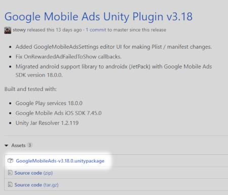 Unity] AdMob 広告をAndroidに実装する